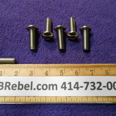 5mm X 16mm 6 Bolts