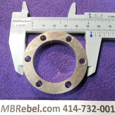 6 HOLE DISC SPACER 14 INCH THICK