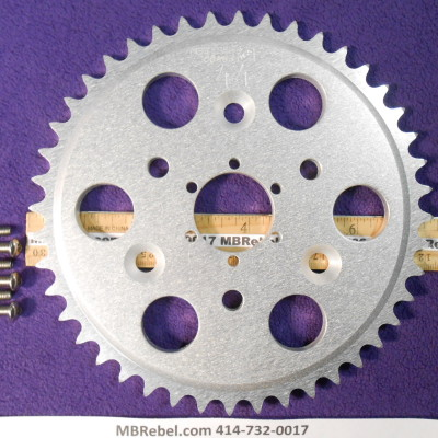 DISC 44 TOOTH SPROCKET fits Sprocket Adapter and 415 Chain