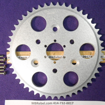 DISC 48 TOOTH SPROCKET fits Sprocket Adapter and 415 Chain