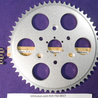 DISC 56 TOOTH SPROCKET fits Sprocket Adapter and 415 Chain