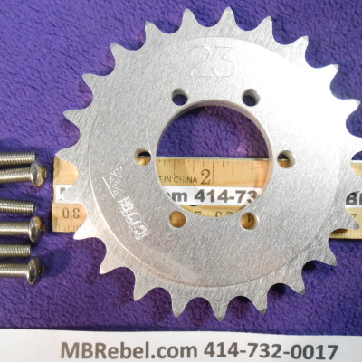 DISC HUB 23 TOOTH SPROCKET fits 415 Chain
