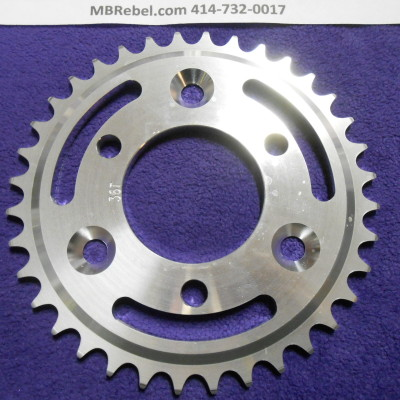 36 Tooth Sprocket Aluminum for 415 Chain