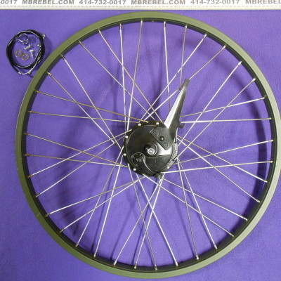 Front Beach Cruiser Wheel Rebuild Upgrade to Sturmey Archer XL-FD 90mm Drum Brake