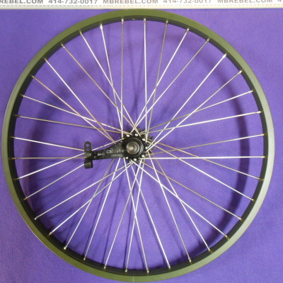 KT Coaster Brake Beach Cruiser Rear Wheel Rebuild to 11G Spokes