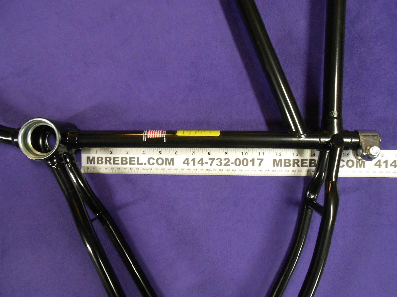 Worksman Sportsman Flyer Board Track Drop Loop Frame Black