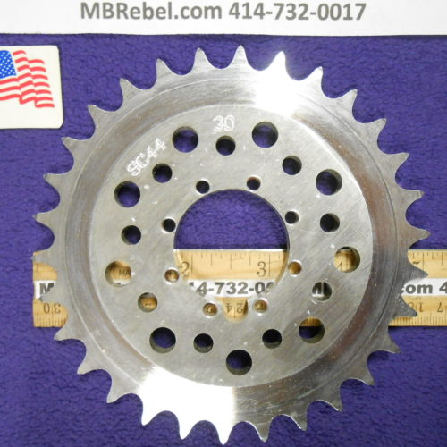 30 Tooth Sprocket Flange Mount 9 Bolt Mount U.S.A.