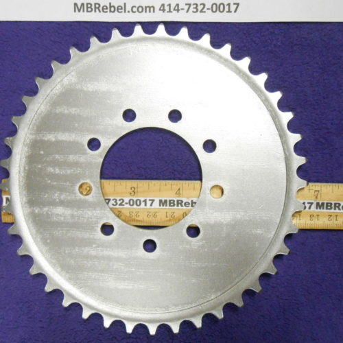 Bored Out 56mm 2416th Steel 41 Tooth Sprocket Rubber 9 Bolt Mount