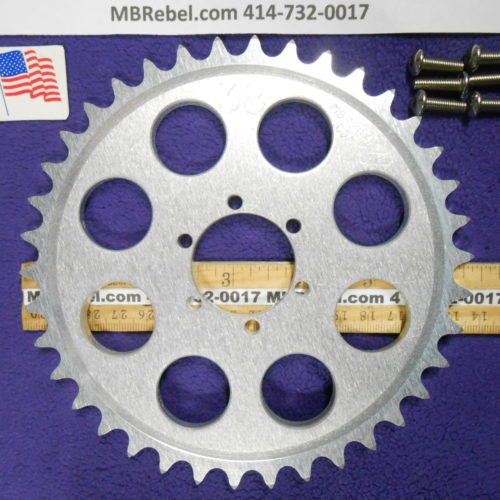 DISC HUB MOUNT 38 TOOTH SPROCKET for 415 Chain