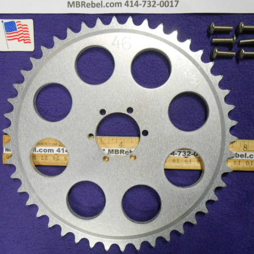 DISC HUB MOUNT 46 TOOTH SPROCKET for 415 Chain