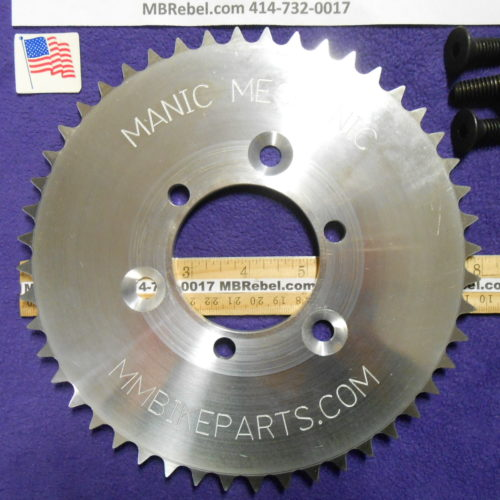MANIC MECHANIC 48 Tooth Sprocket fits Sprocket Adapters