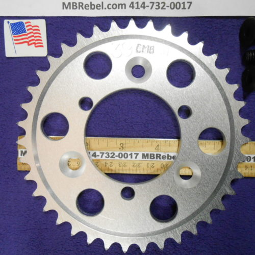 39 Tooth Sprocket for 415 or #41 Chain Fits Sprocket Adapters U.S.A.