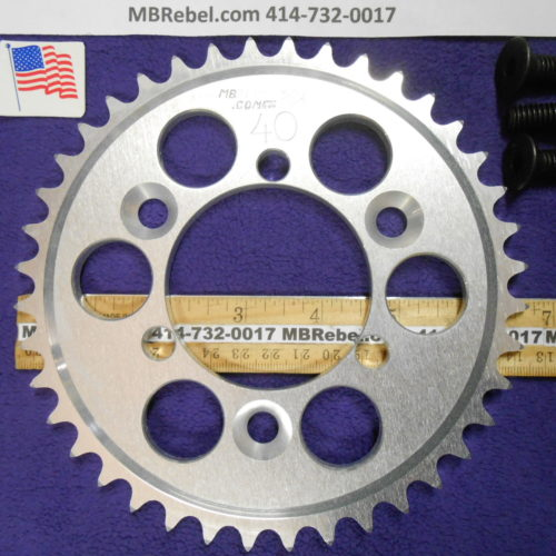 40 Tooth Sprocket for 415 or #41 Chain Fits Sprocket Adapters U.S.A.