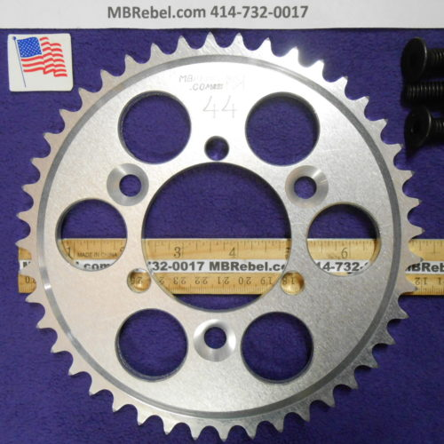 44 Tooth Sprocket for 415 or #41 Chain Fits Sprocket Adapters U.S.A.