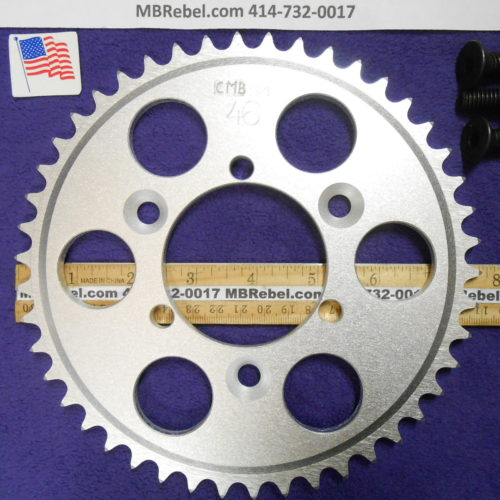 46 Tooth Sprocket for 415 or #41 Chain Fits Sprocket Adapters U.S.A.