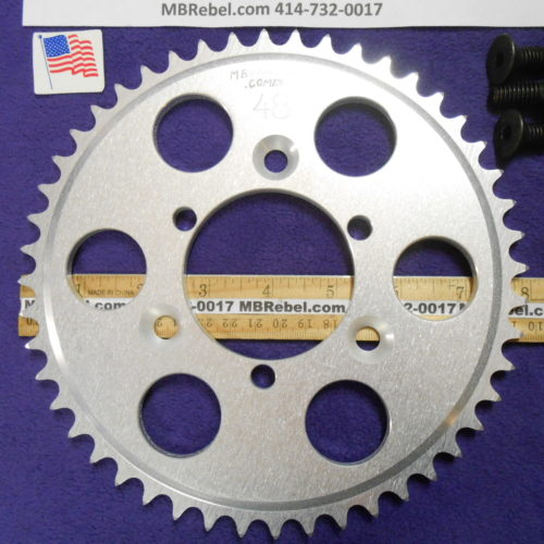 48 Tooth Sprocket for 415 or #41 Chain Fits Sprocket Adapters U.S.A.