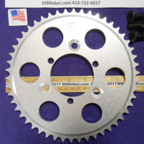 50 Tooth Sprocket for 415 or #41 Chain Fits Sprocket Adapters U.S.A.