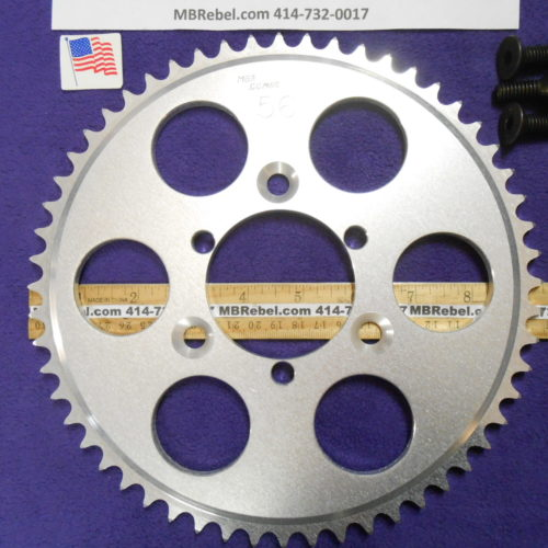 56 Tooth Sprocket for 415 or #41 Chain Fits Sprocket Adapters U.S.A.
