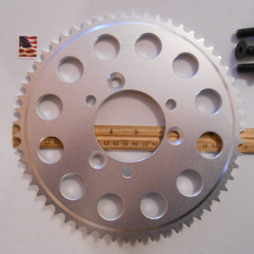 56 Tooth Sprocket for 415 or #41 Chain Fits Sprocket Adapters U.S.A. MBRebel