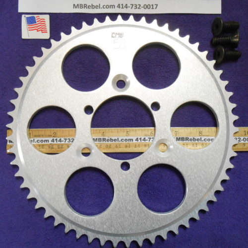 58 Tooth Sprocket for 415 or #41 Chain Fits Sprocket Adapters U.S.A.