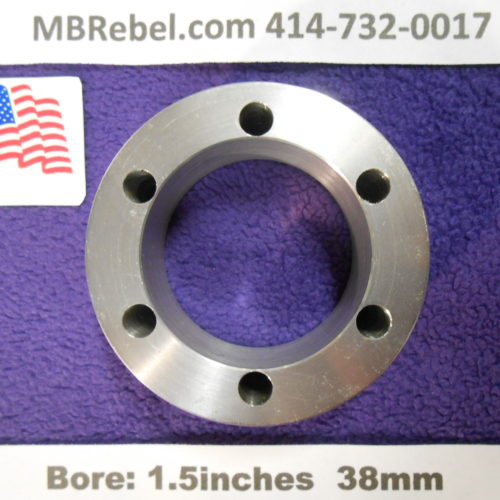 Bicycle DISC Rotor Spacer Hope 20mm Thick 6-Hole 38mm Bore U.S.A.
