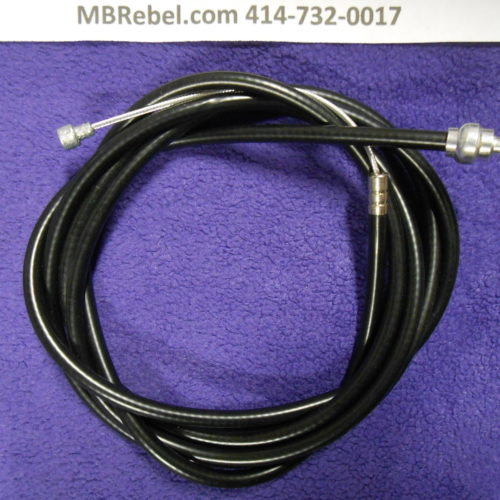 60″inch  Bicycle Brake Cable Black
