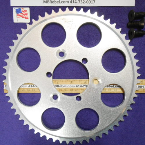 60 Tooth Sprocket for 415 or #41 Chain Fits Sprocket Adapters U.S.A.