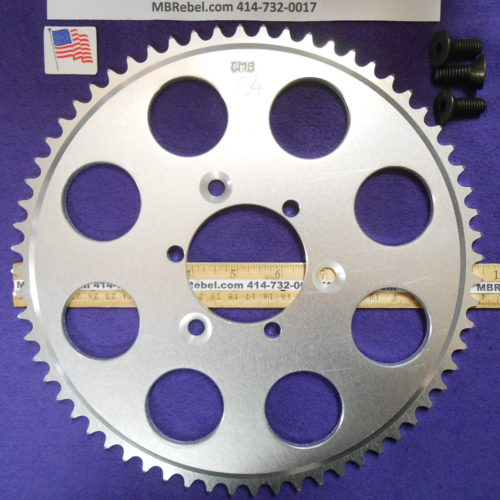 64 Tooth Sprocket for 415 or #41 Chain Fits Sprocket Adapters U.S.A.