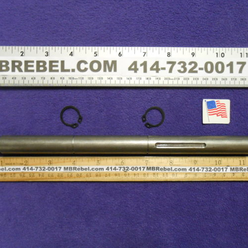 12 inch Long Wide Sealed Pedal Crank Axle