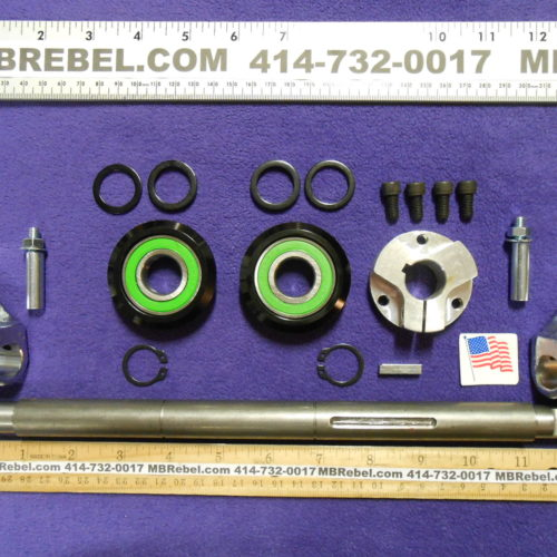 13 14 Inch Wide Sealed Pedal Crank Kit Cottered American