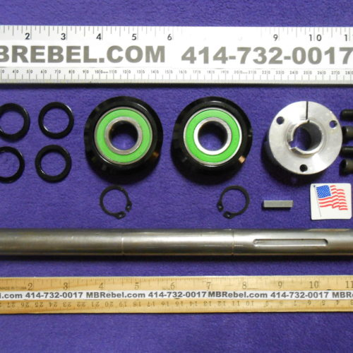 13inch Span Square Taper Crank Axle Kit