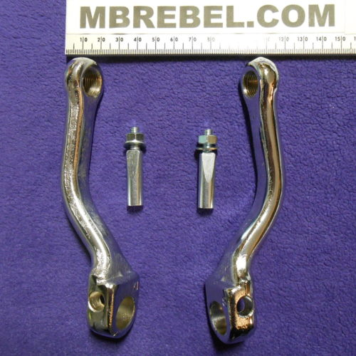 4 12 inch Cottered Offset Crank Arms