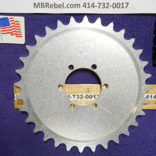 DISC Hub Mount 32 Tooth Sprocket
