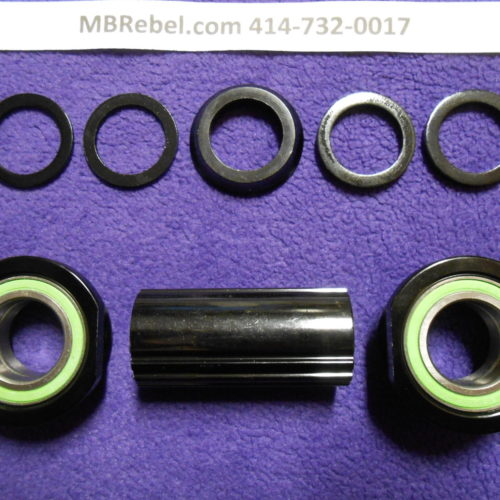 Euro Sealed Threaded Bottom Bracket Bearing Set 34inch  Inner Diameter