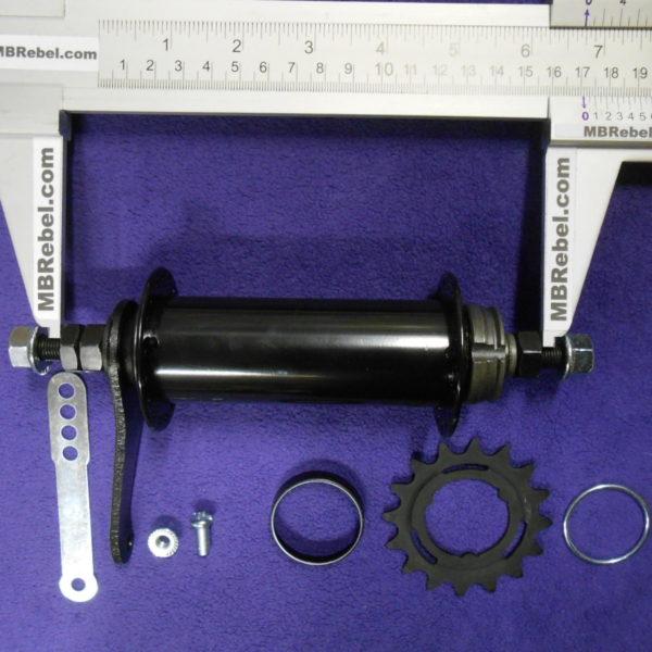 Fat Bike Hub Coaster 170mm Rear 36 Hole Black