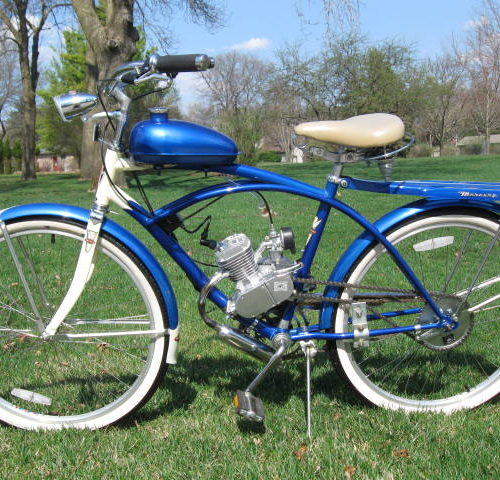 Mercury Motorized Bicycle