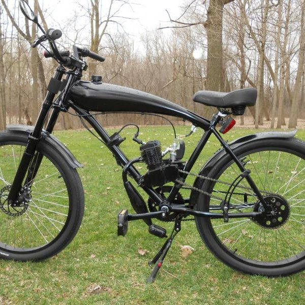 Hellhound motorized bicycle for Planet motors on military
