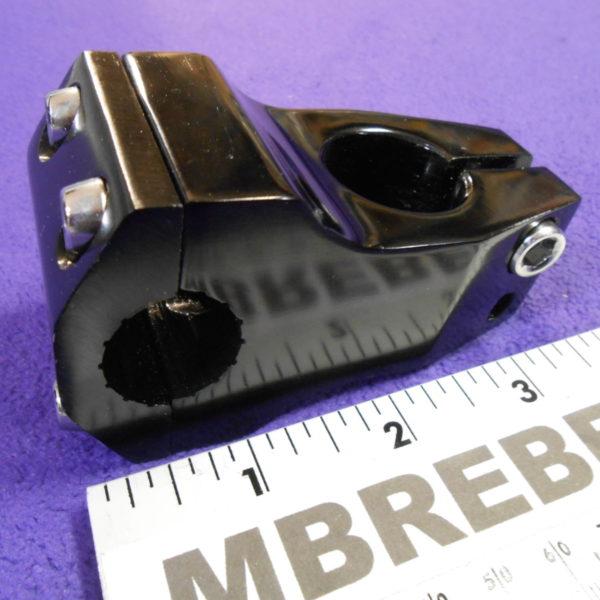 Stem Adjustable 22,2 x 75 For 1 Inches Fork 25,4 Handlebar Clamp Silver Black