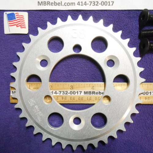 38 Tooth Sprocket for 415 or #41 Chain Fits Sprocket Adapters U.S.A.