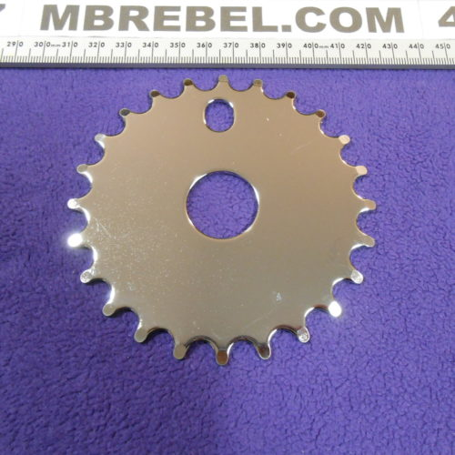Solid Chrome Chainwheel Pedal Sprocket 24T