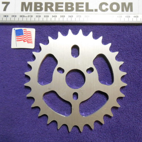 Vintage HD Look Sprocket for 34″inch I.D. STANDARD PEDAL SPROCKET HOLDER 28T