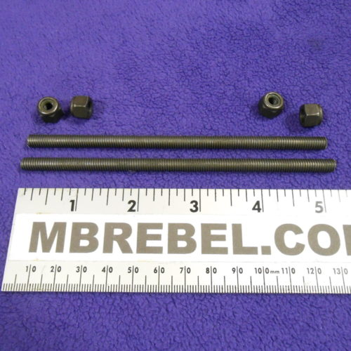 5.25 inch Long Grade 8.8 Motor Mount Bolts Pair