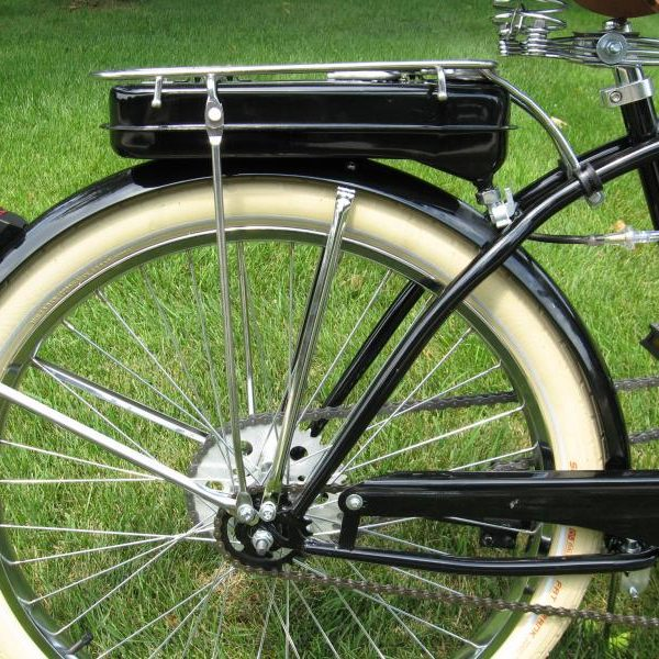 Rear Gas Tank With Rack Motorized Bicycle