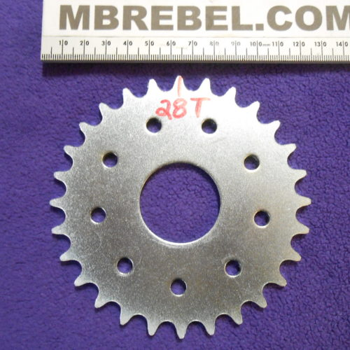 28 Tooth Sprocket Motorized Bicycle 415 Chain