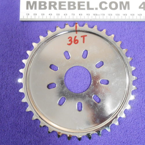 36 Tooth Sprocket for Motorized Bicycle 415 Chain MBRebel.com