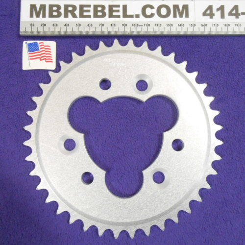 MBRebel Coaster Cut Sprocket for 415 or #41 Chain Fits Sprocket Adapters U.S.A. 40Tooth