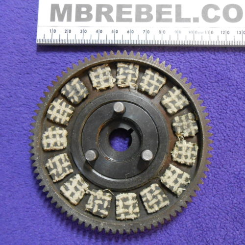 Motorized Bicycle Clutch Complete Assembeled Pads MBRebel.com