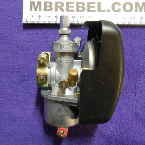 SPEED Carburetor with Shut Off and Black Air Filter MBRebel.com