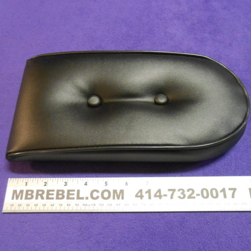 Sissy Bar Pad Backrest Black MBRebel.com