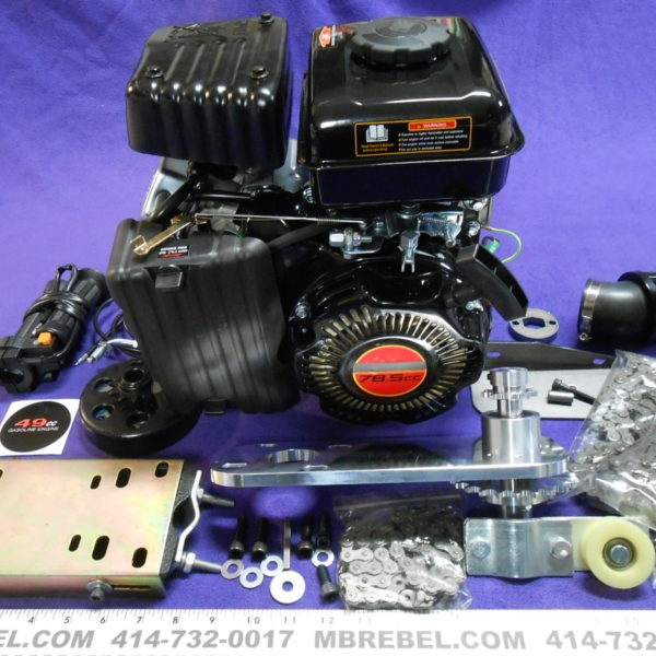79cc Monster 80 Bike Engine Kit 4-Stroke Kit - MBRebel com